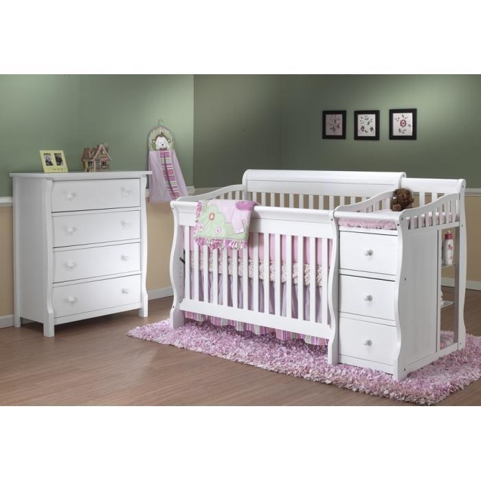 Sorelle Tuscany /Princeton Elite 4 In 1 Convertible Crib U0026 4 Dra