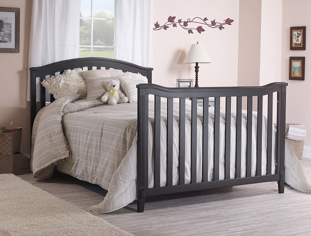 Sorelle Berkley Cnc Crib Toddler Rail Espresso 148 E