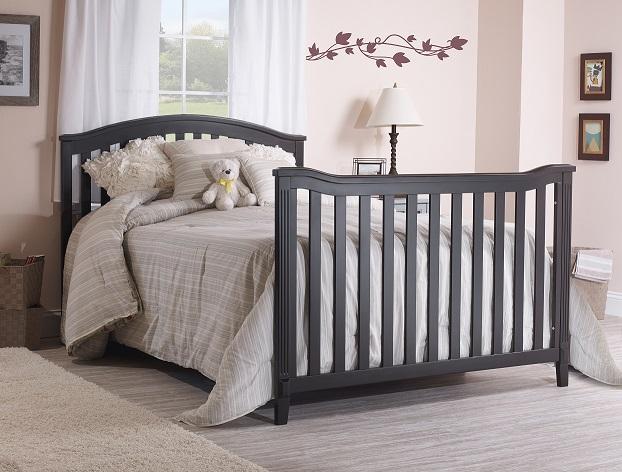 Sorelle Berkley Cnc Crib Toddler Rail Espresso 148 E