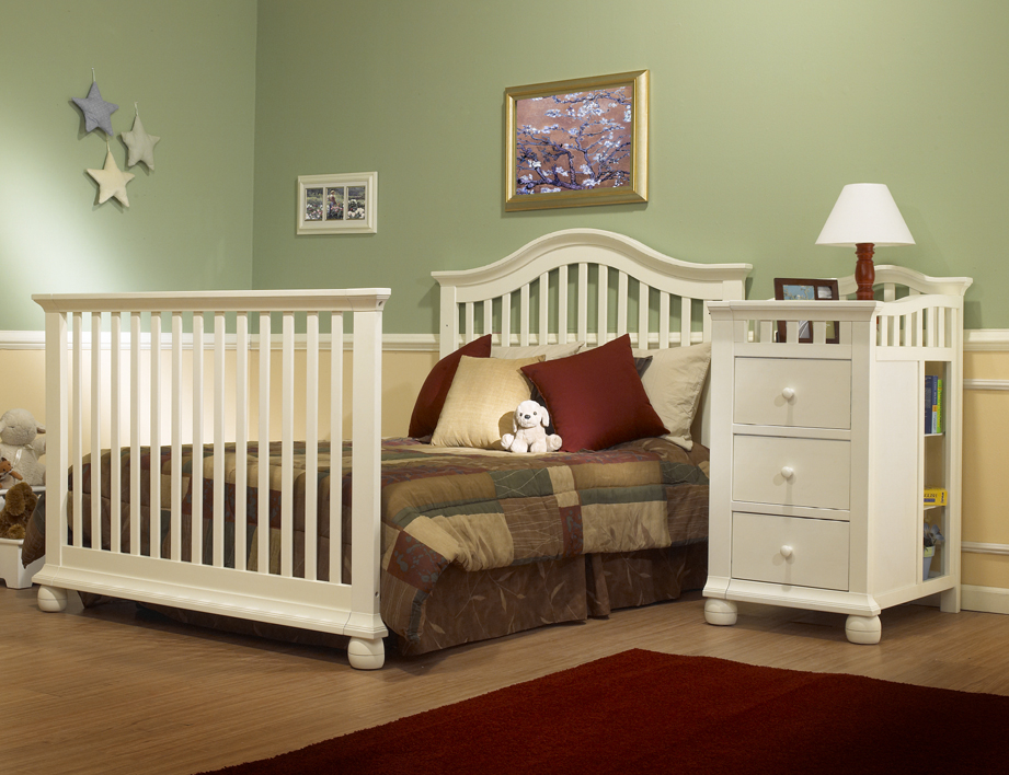 Sorelle vista crib sorelle finley crib u0026 changer in for Cradle bed for adults